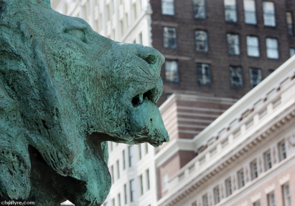 Art Institute of Chicago - Lion Head